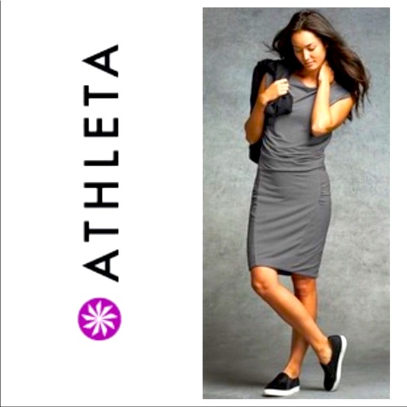 ATHLETA Westwood Dress - Gray (Large)